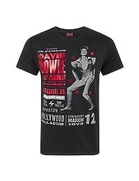 David Bowie Mens Ziggy Stardust 1973 T-Shirt