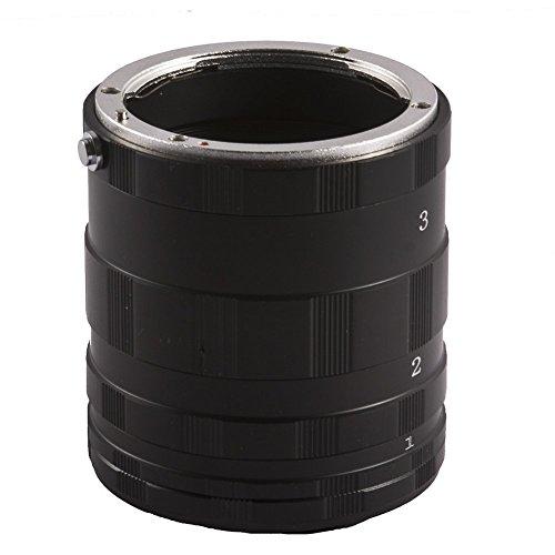 Mcoplus Manual Macro Extension Tube Metal Adapter Set for Nikon DSLR Cameras