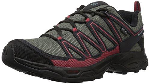 Salomon Women's Pathfinder Cswp W Walking-Shoes, Castor Gray/Phantom/Mineral, 9.5 M US