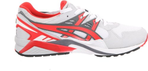 Chaussures Gel Sportstyle Formateurs Blanc Kayano Rouge Asics Fée aAxnwTq7x