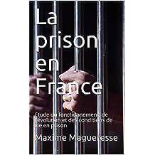 La prison en France: Etude du fonctionnement, de l'évolution et des conditions de vie en prison (French Edition)