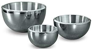 Hammer Stahl Milano Bowl Set - 3 Bowls