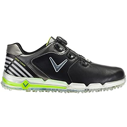 Image of Callaway Golf 2018 Mens X Series XFER Fusion BOA Spikeless Golf Shoes Golf