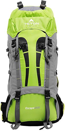 TETON SPORTS Escape 4300 Ultralight Internal Frame Backpack – Not Your Basic Backpack; High-Performance Backpack for Hiking, Camping, Travel, and Outdoor Activities; Sewn-In Rain Cover