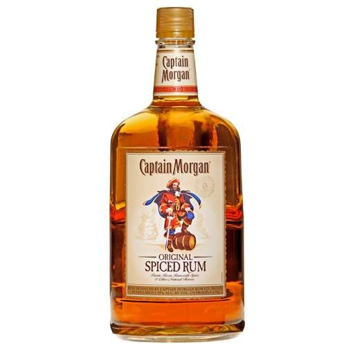 Captain Morgan Spiced Rum, 1.75 L, 70 Proof