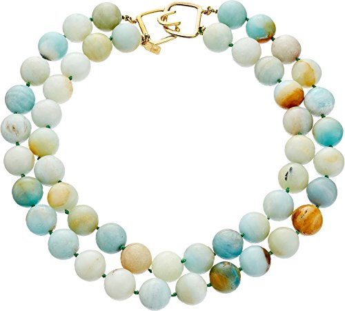 Kenneth Jay Lane Women's 6438 Necklace Jade One Size