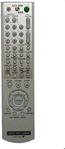 Replacement Remote Control for Sony SLV-D370P