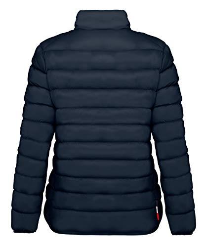 4431445 Pour Polyamide Polyester Invicta Cammel 50 d Doudoune Bleu Femme 1271 Foncé 1qH56