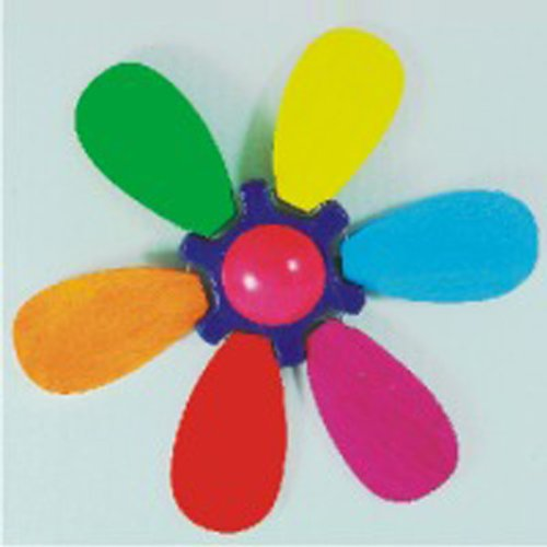 Spinning Flower Push Toy