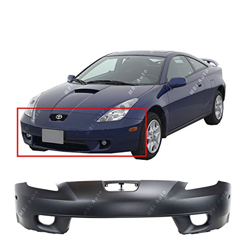 MBI AUTO - Primered, Front Bumper Cover Fascia for 2000 2001 2002 Toyota Celica 00 01 02, TO1000208 (2000 Cover Bumper Front)