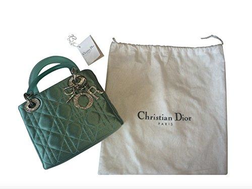 Christian Dior Satin - Christian Dior Micro Lady Dior Handbag
