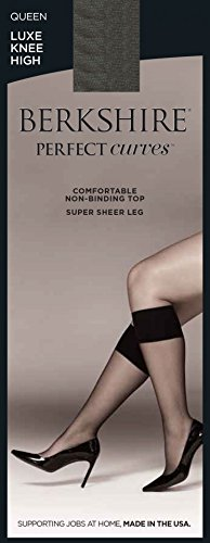 Top Berkshire Women's Plus-Size Queen Perfect Curves Luxe Knee High for cheap