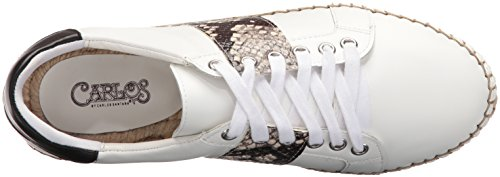 Carlos Shoe Walking Women's by White Carlos Giselle Santana O5q4xgw