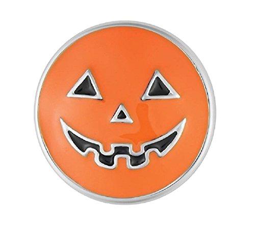 Ginger Snaps Orange Pumpkin SN19-28 (Standard Size) Interchangeable Jewelry -
