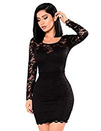 Hi-Q Fashion Elegant Lace Dress