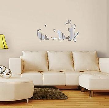Design Freunde Selbstklebende 3d Katzenkinder Katzen Spiegel