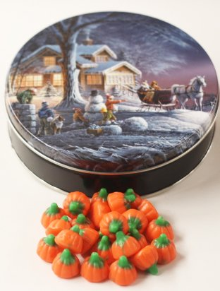 Scott's Cakes Mellocreme Pumpkins in a Small Sleigh Ride (Scotts Cakes Mellocreme Pumpkins)