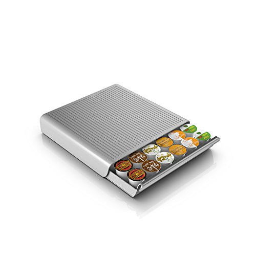mind-reader-hero-36-capacity-single-serve-coffee-pod-storage-drawer-silver-grey