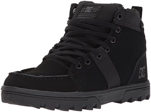 DC Women's Woodland W Ankle Boot Black/Black/Black