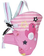 Zapf Creation 824443 Baby Born Tragesitz, bunt