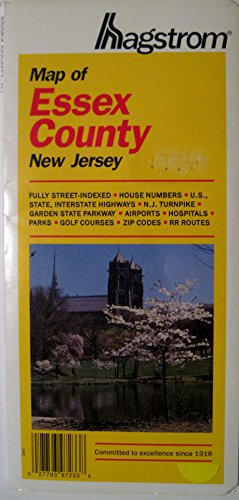 New Jersey Essex County Pocket Map