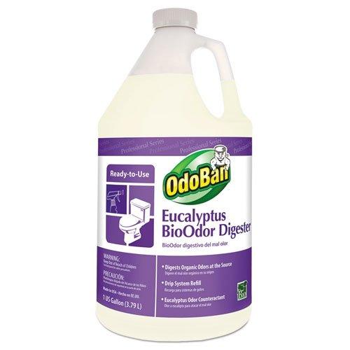 OdoBan 27062-G4 1 Gallon Bio-Odor Control Digester (Case of 4) by OdoBan