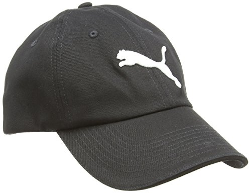 PUMA Erwachsene Essential Cap, Black-Cat Logo, One size, 832400 01