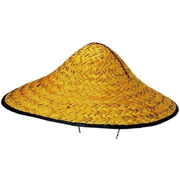 Party Discount Cappello cinese raccoglitrice di riso in paglia ... 270370e60e28