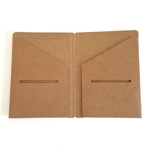 (Kraft File Folder for Passport Pocket Travelers Notebook 5