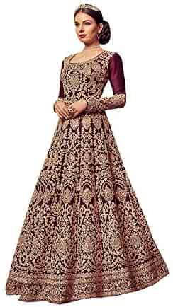 6d8304f41e Indian/Pakistani Ethnic/Party Wear Long Anarkali Gown for Womens VN 5902