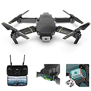 Flashandfocus.com 41-N-EF6roL._SS300_ Adsvtech FPV Mini Drone with Camera for Adults, 1080P HD Dual Cameras, WiFi RC Quadcopter Helicopter APP Smart…