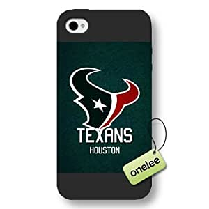 Personalize NFL Houston Texans Logo Frosted iphone 6 plus Black Case - NFL San Diego Chargers Team Logo Frosted iphone 6 plus Case Cover - Black