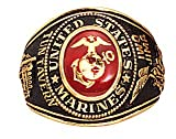 Rothco Deluxe Marine Corps Ring, 11 Size