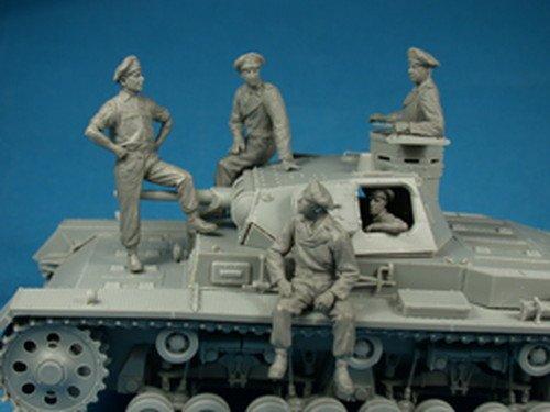 Miniart 1:35 - German Tankcrew (france 1940) by MiniArt (Image #4)