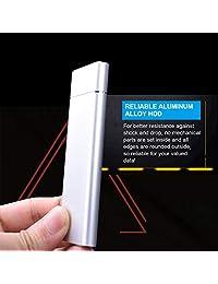 1TB External Hard Drive Portable Hard Drive, Slim HDD Type-C USB3.1 for PC, Laptop, Xbox One, Xbox 360,PS4(1TB, Blue)