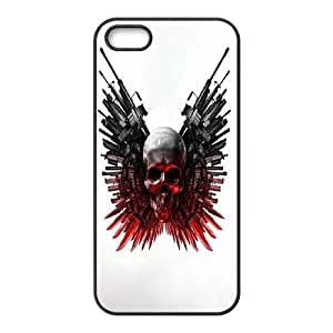 T-TGL(RQ) Iphone 5 5G 5S Customized Phone Case The Expendables with Hard Shell Protection