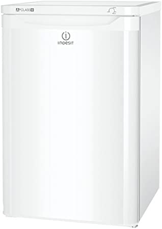 Indesit TZAA10 - Congelador (Vertical, Independiente, Color blanco ...