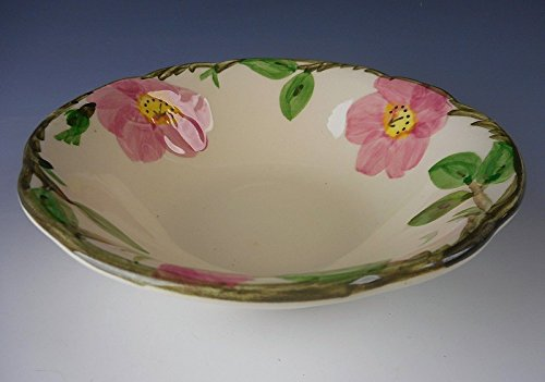 Franciscan Pottery DESERT ROSE - Fly F/USA Stamp Coupe Cereal Bowl(s) (Desert Rose Pottery)