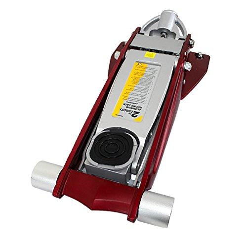 ガレージジャッキ 低床 2t 2トン デュアルポンプ式 アルミ製 B01KLIORUE