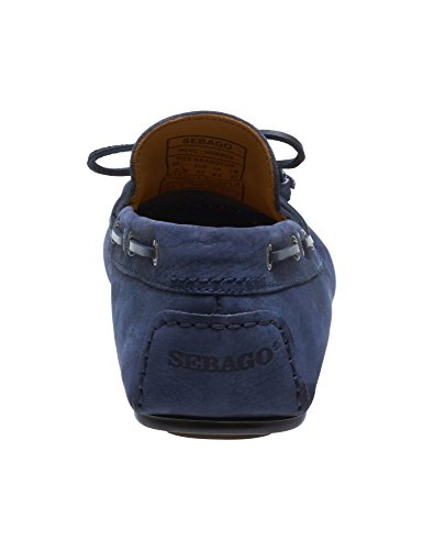 Sebago Men's Tirso Tie Leather Loafers Navy