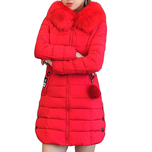 2018 Winter Jacket Women Large Fur Outerwear Long Down Cotton-Padded Jacket Coat