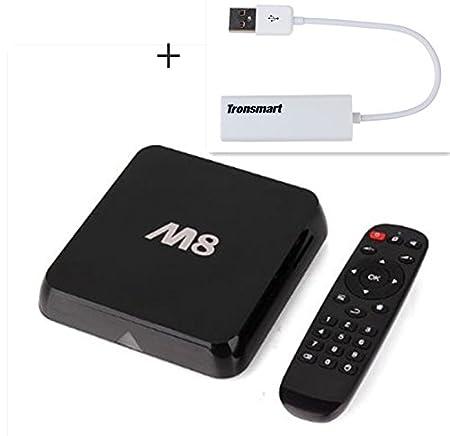 943b1cb14a93 in4dealz M8 Android TV BOX Amlogic S802 2G 8G BT 2.4G  Amazon.co.uk   Electronics