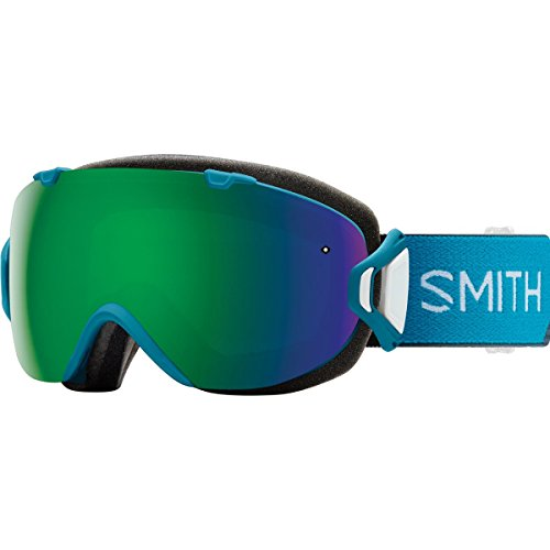 Smith Optics Womens I Os Snowmobile Goggles Mineral Split   Chromapop Sun Green Mirror