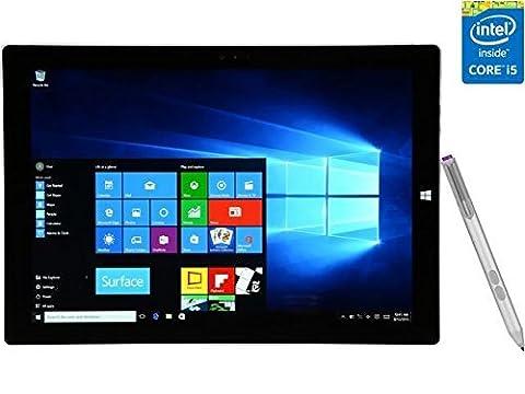 2016 Newest Microsoft Surface Pro 3 12-Inch Tablet PC, Intel Core i5 Processor, 8GB RAM, 256GB SSD Storage, Windows 10 (Microsoft Surface Pro 2 32)