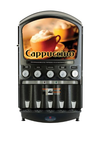 Grindmaster-Cecilware PIC5 5-Flavor Hot Powder Cappuccino/Hot Chocolate and Specialty Beverage (Flavor Cappuccino Dispenser)