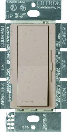 Lutron DVSC-103P-MS Diva 1000-watt 3-Way Dimmer, Mocha Stone