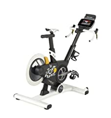 ProForm TdF 2013 Envision your triumphal entry to the City of Lights on the official training bike of Le Tour de France: The ProForm Tour de France Indoor Cycle. With stunning 20 percent incline and decline capability—this is the only train...