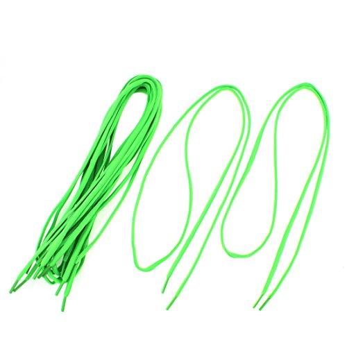 sourcingmap 4 Paare Sports Turnschuhe Schuh Schnürsenkel Schnur 43  Länge Green