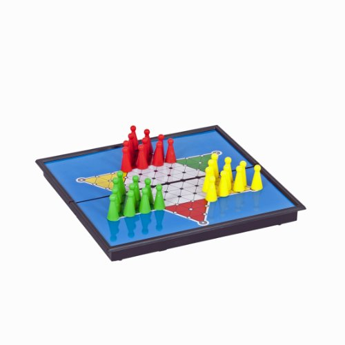 WE Games Magnetic Chinese Checkers - Travel Size (Checkers Standard Chinese)