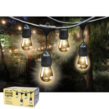 Outdoor Weatherproof String Light Set